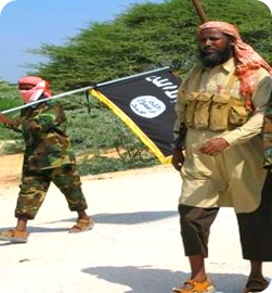 Al-Shabaab Has Vowed To Replace The Somali flag by A Black