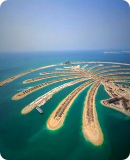 Palm island UAE_