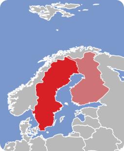 Swedish-map