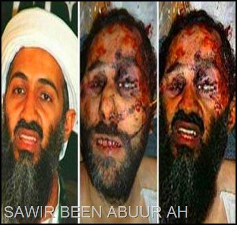 osama bin laden dead. Osama Bin Laden Dead Body