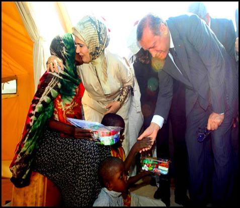 BASBAKAN ERDOGAN SOMALI'DE